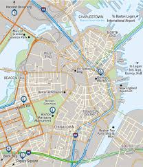 Boston Commons Map by Vax Vacationaccess Destination Detail