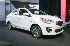 2017 mitsubishi mirage silver 2017 mitsubishi mirage g4 heads to new york motor trend