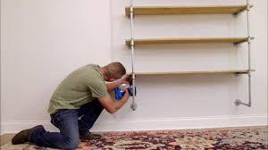 floating shelf for kitchen video diy