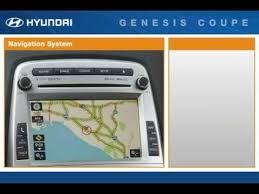 hyundai genesis coupe navigation system 2011 hyundai genesis coupe passenger seat controls features