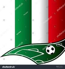 Itlaly Flag Cool Soccer Italy Flag Stock Vector 198438302 Shutterstock