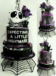 nightmare before card baby shower invitation by