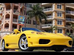 2001 360 spider for sale 2001 360 spider for sale in naples fl stock 124635 15