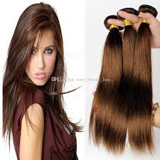cheap human hair extensions grade 8a malaysian chocolate brown hair light brown human