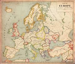 European Maps by Antique Europe Maps Wiring Free Printable Images World Maps