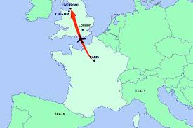 Map Of Spain And France by Map Of France And England Travel