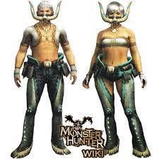 Monster Hunter Halloween Costumes Piscine Armor Monster Hunter Wiki Fandom Powered Wikia