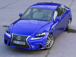 isf lexus blue lexus is f sport 2016 3d model vehicles 3d models is300h 3ds max
