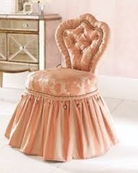 vanity chair with skirt vanity chairs foter