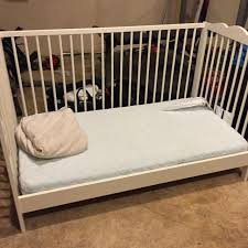 Ikea Convertible Crib Find More Ikea Hensvik Convertible Crib And Mattress With