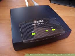 Modem Internet Light Blinking How To Test Your Internet Before Calling Your Broadband Provider