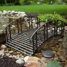 astounding inspiration metal garden bridge beautiful decoration