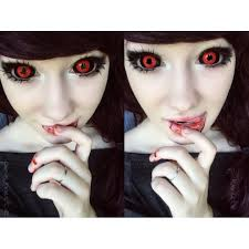 tokyo ghoul sclera contacts lenses are in stock now colored
