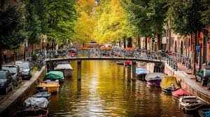 Beautiful Places On Earth by Beautiful Places On Earth Amsterdam Canal Wallpaper