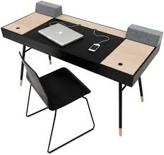 bureau boconcept designer desks in white black oak veneer quality from boconcept