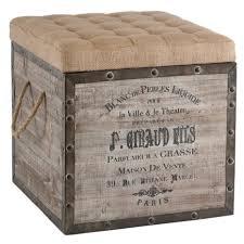 furniture leather storage ottomans for sale burlap seat storage