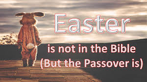 easter is not in the bible but the passover is by apply wisdom