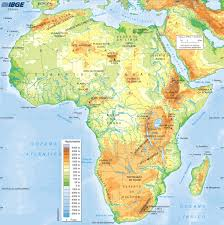 Africas Map by L U0027africa Lessons Tes Teach