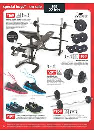 Weight Bench With Barbell Set Aldi Catalogue Easter Offers 2014 Page 14