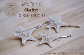 Starfish Decorations 5 On Friday 5 Ways To Add Starfish To Your Beach Wedding