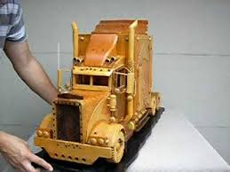 Making Wooden Toy Trucks by Big Peter World U0027s Biggest Wooden Peterbilt Truck Model For Sale