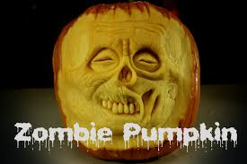 zombie pumpkin halloween 3d pumpkin carving youtube