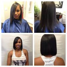 no relaxer all natural bob haircut yelp