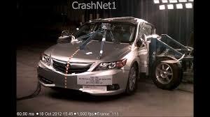 lexus ct vs acura ilx acura ilx hybrid 2013 side crash test nhtsa crashnet1