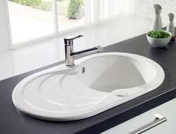 ceramic kitchen sink astracast cascade round bowl ceramic sink and drainer http www