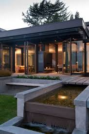 modern water features large modern house design with water features inspired by water