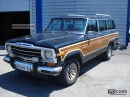 old jeep grand wagoneer 1979 jeep grand cherokee grand wagoneer slect track car photo and