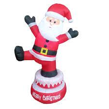 mr christmas super climbing santa musical animated tree trimming