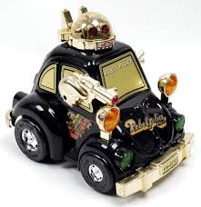 police car toy robot police car by kuang wu toys the old robots web site