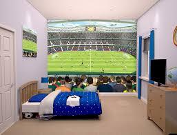 Poster Wallpaper For Bedrooms Football Stadium Bedroom Mural 10ft X 8ft Walltastic