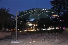 Patio Umbrella Lights Led Fabulous Patio Umbrella With Led Lights Led Patio Umbrella Lights