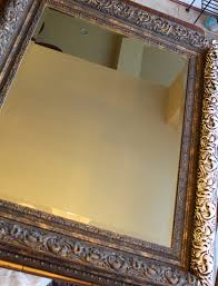 Pottery Barn Mirror Knock Off by A Two For You Aging A Mirror U0026 A Pottery Barn Knock Off Bitz Of Me