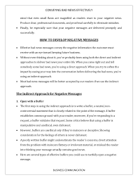 Samples Of Bad Resumes by How To Convey Bad News