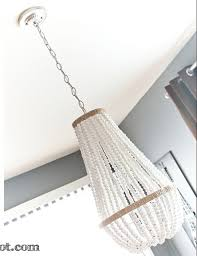 Beaded Chandelier Diy Diy Chandelier Face Off Lamps Com