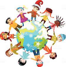 children uniting around the world stock vector art 157341162 istock