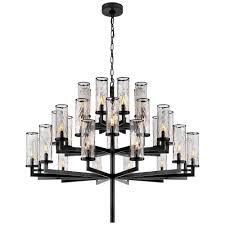 chandelier chandelier liaison triple tier chandelier by kelly wearstler
