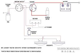 basic ignition switch wiring diagram universal ignition switch