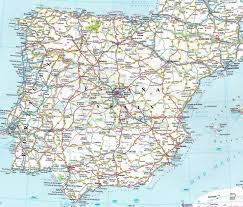 Map Of Spain Cities by You Know It Took A While To Find A Legible Road Map I Mean A