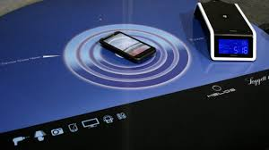 Wireless Charging Table Ces 2012 Wireless Power Making Strides Still Has Long Way To Go