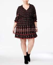 american rag trendy plus size printed peasant dress only at
