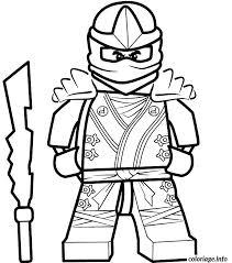 Coloriages Ninjago En Prepare Pour Combat Ssin Coloriage Ninjago