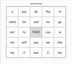 Printable Halloween Bingo Cards by Relentlessly Fun Deceptively Educational Sight Word Bingo