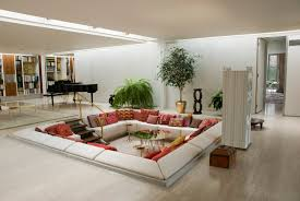 Mid Century Modern Living Room by Home Design Awesome Mid Century Modern Living Room Design With