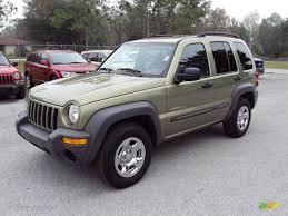 jeep liberty 2004 cactus green pearl jeep liberty sport 23461900 gtcarlot