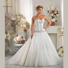 designer sweetheart crystal beaded plus size wedding dresses