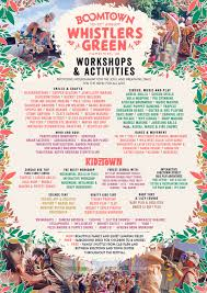 over 100 activities and workshops for all ages boomtown